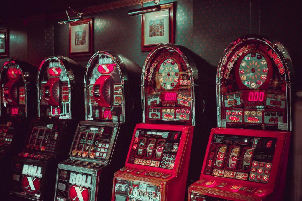 machine à sous dans un casino